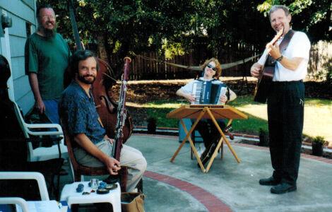 Garden Variety Band rehearsal