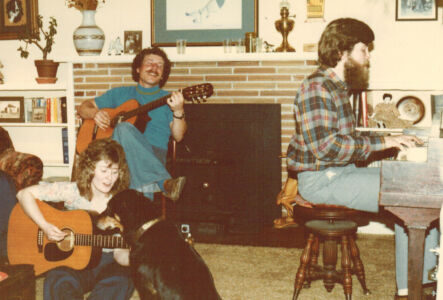 Music fun with friends and family.