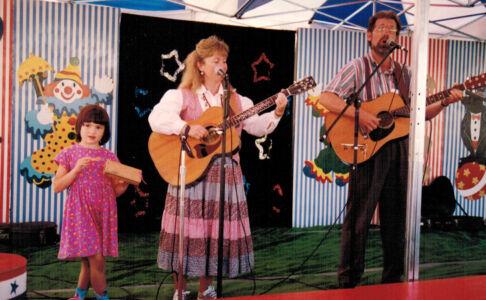 A summertime fair gig with a  longtime friend.