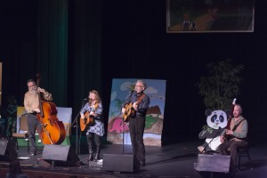 The kids show at Florence Winter Folk Festival